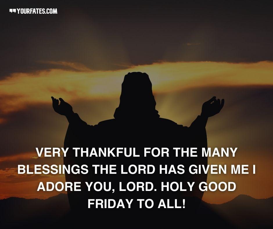 holy good friday thanku god