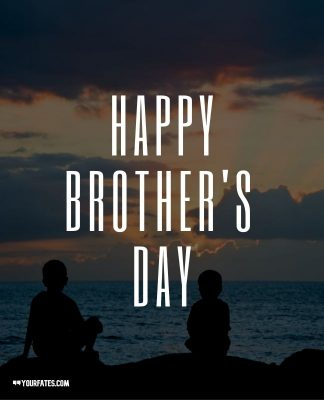 Happy Brothers Day wishes card