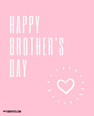 happy brothers day greeting card