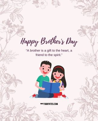 Brother's Day Card