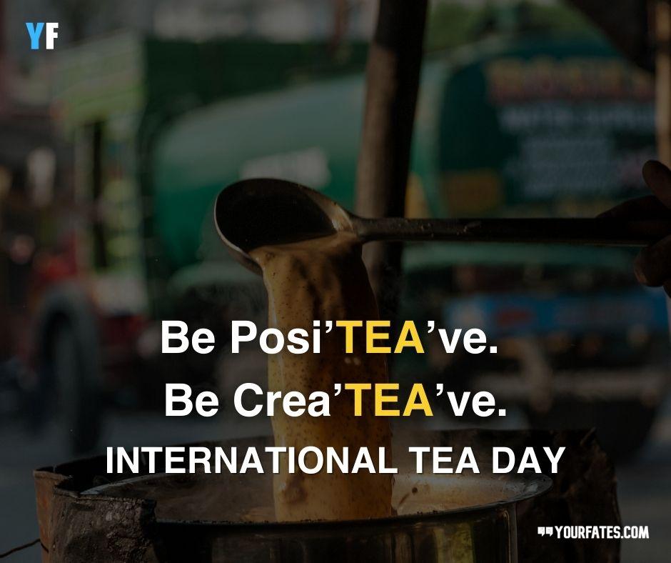 Happy International Tea Day Wishes