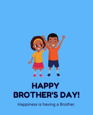 National Brother's Day greeting Card