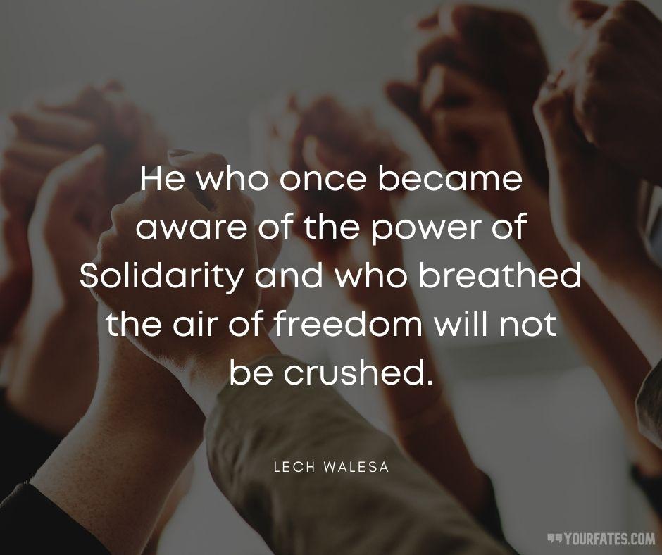 Solidarity Quotes
