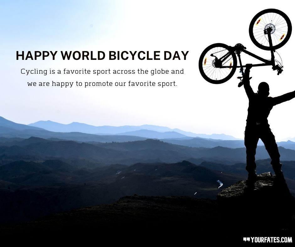 Bicycle Day Wishes