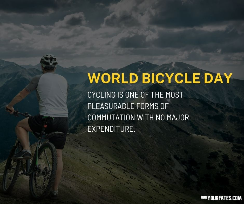 World Bicycle Day Wishes
