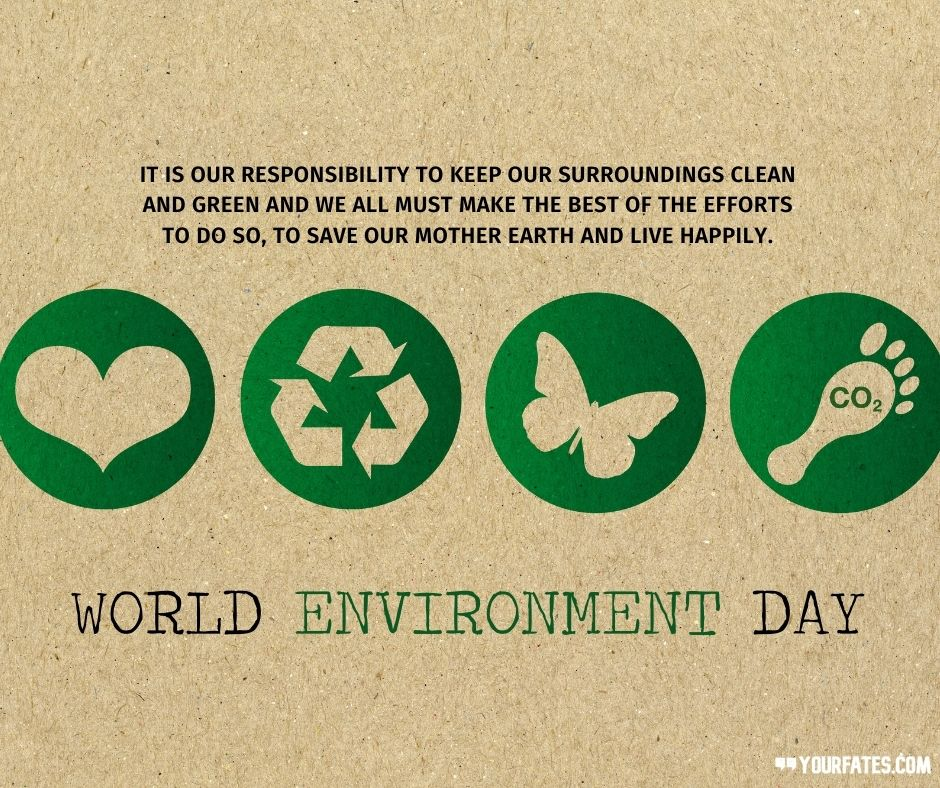 Wishes on World Environment Day