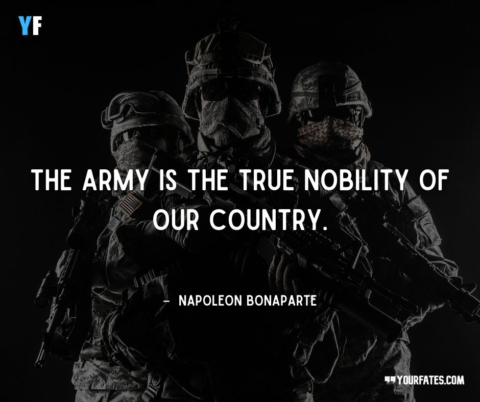 army quotes motivational