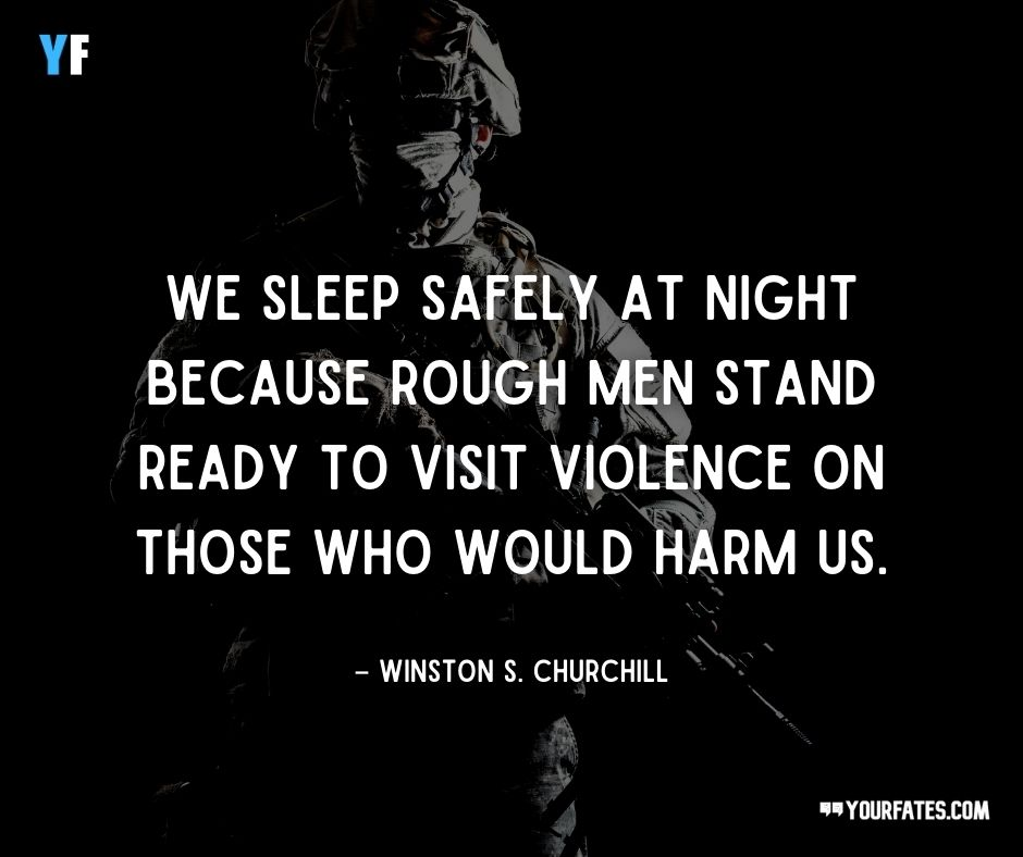 inspiring military quotes