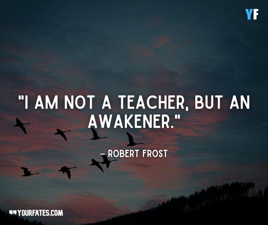 robert frost famous quotes