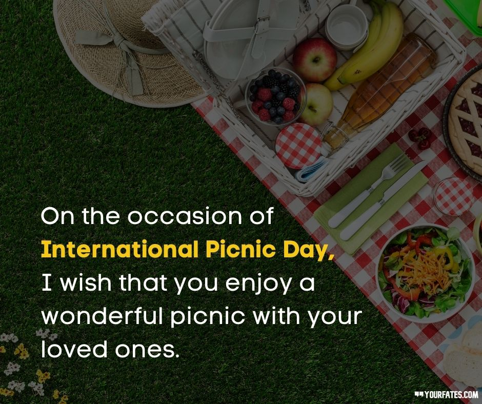 Picnic Day Wishes
