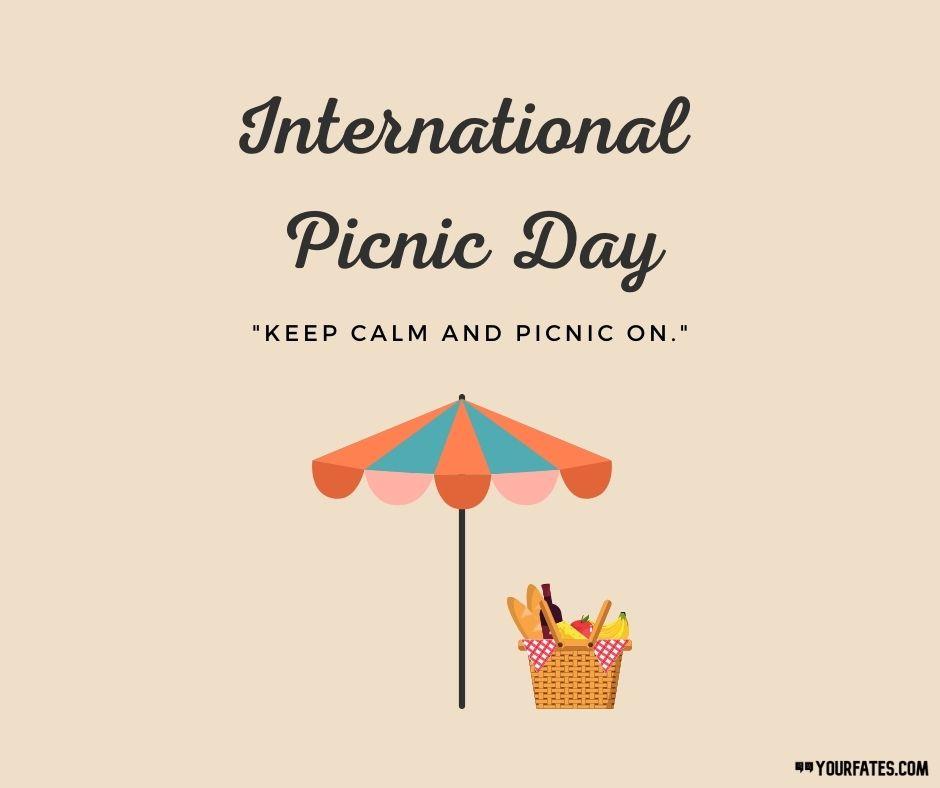 """International Picnic Day Wishes"