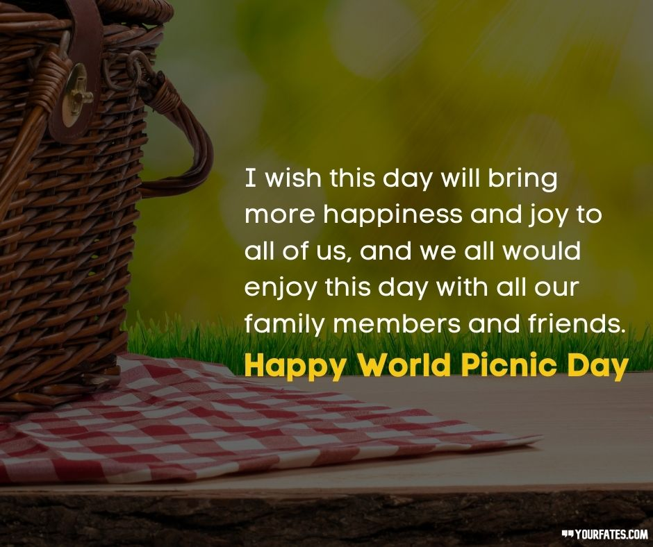 Picnic Day Messages