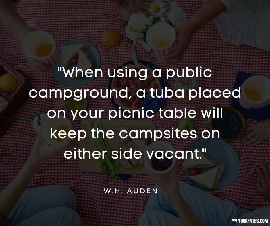 Picnic Day Quotes