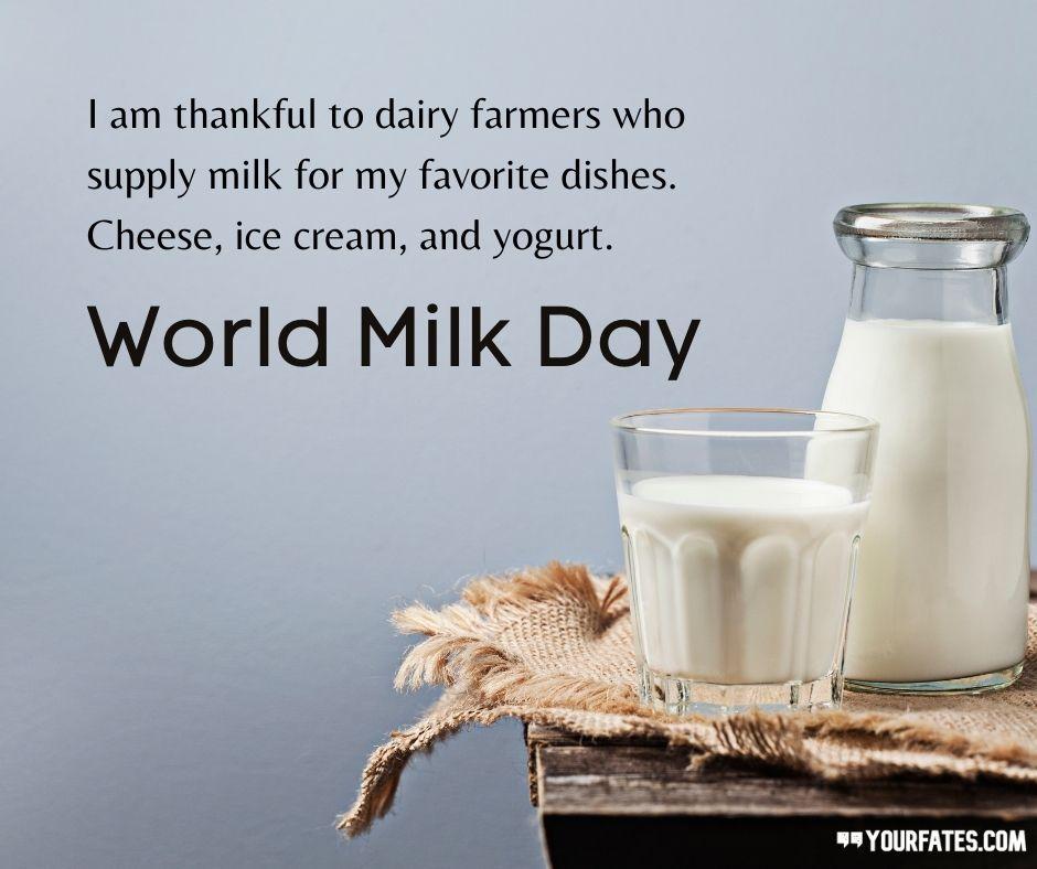 World Milk Day Wishes