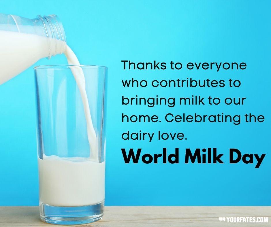 World Milk Day Messages