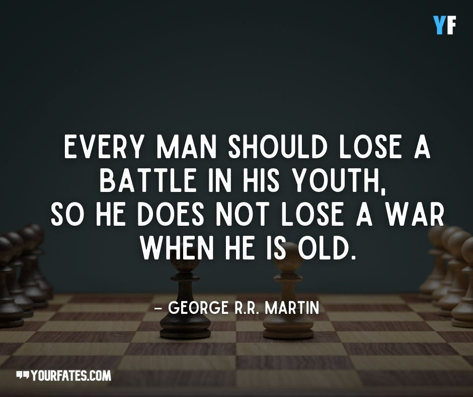 motivational george martin quotes
