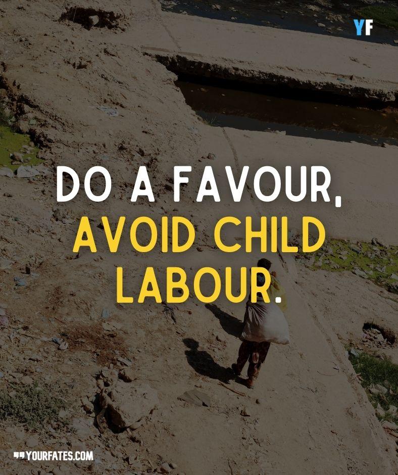 stop child labour slogans