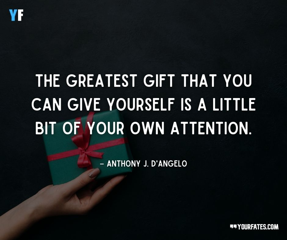the gift of giving quotes