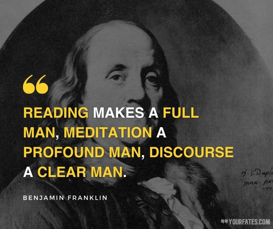Benjamin Franklin Quotes on life