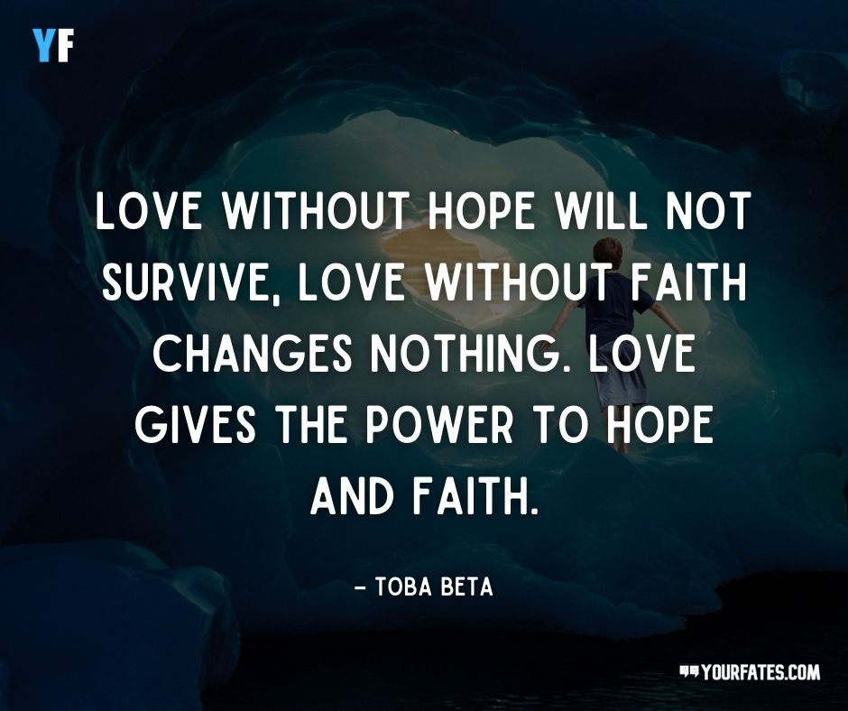 Hope Quotes on love