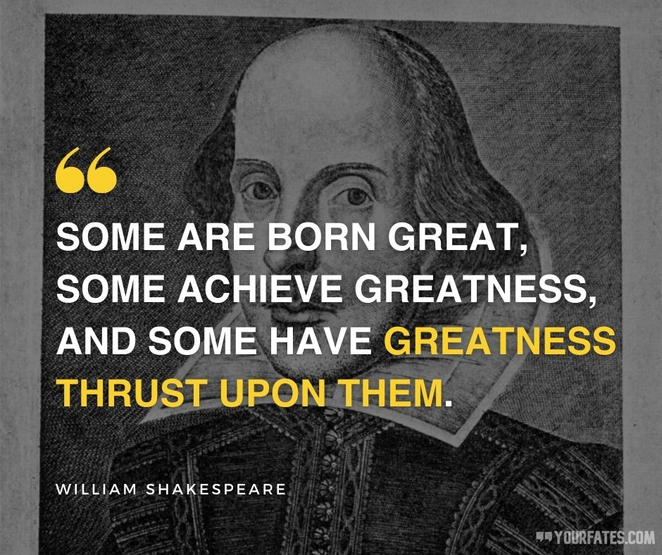 william shakespeare quotes about success