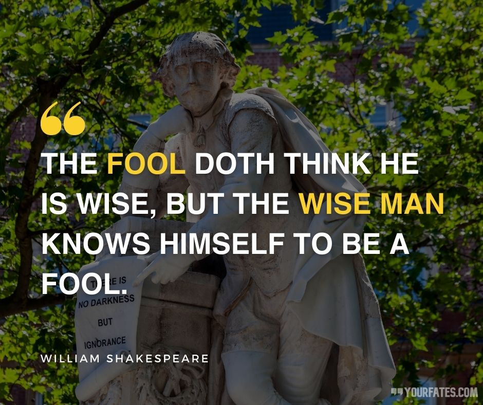 william shakespeare quotes on life