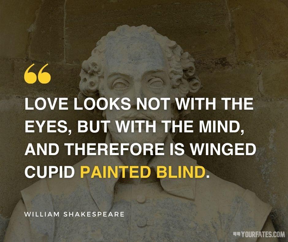 william shakespeare quotes love