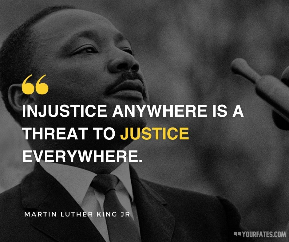 martin luther king jr quotes on justice