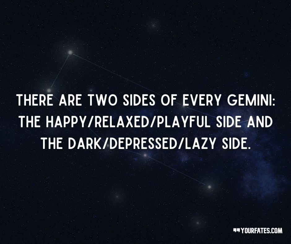 Gemini Quotes About Personality