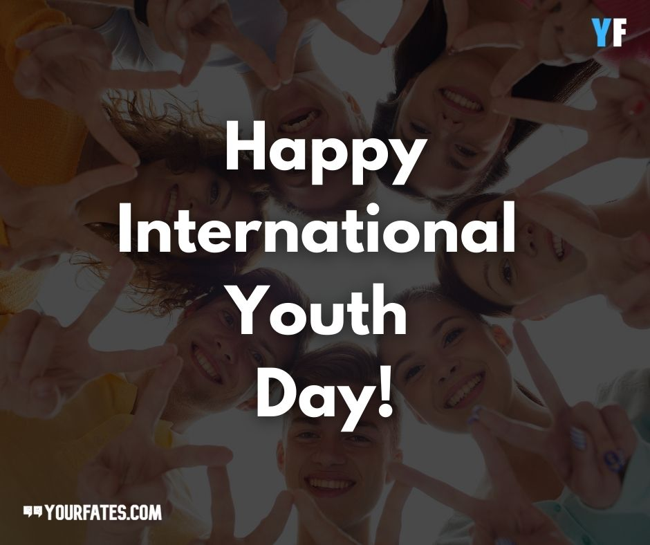 Happy International Youth Day Images