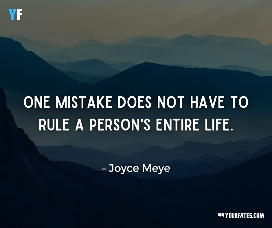 Mistake Quotes about life