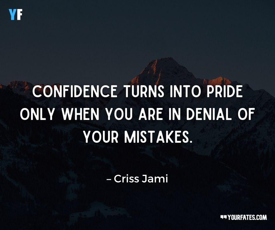 denial of mistake quotes