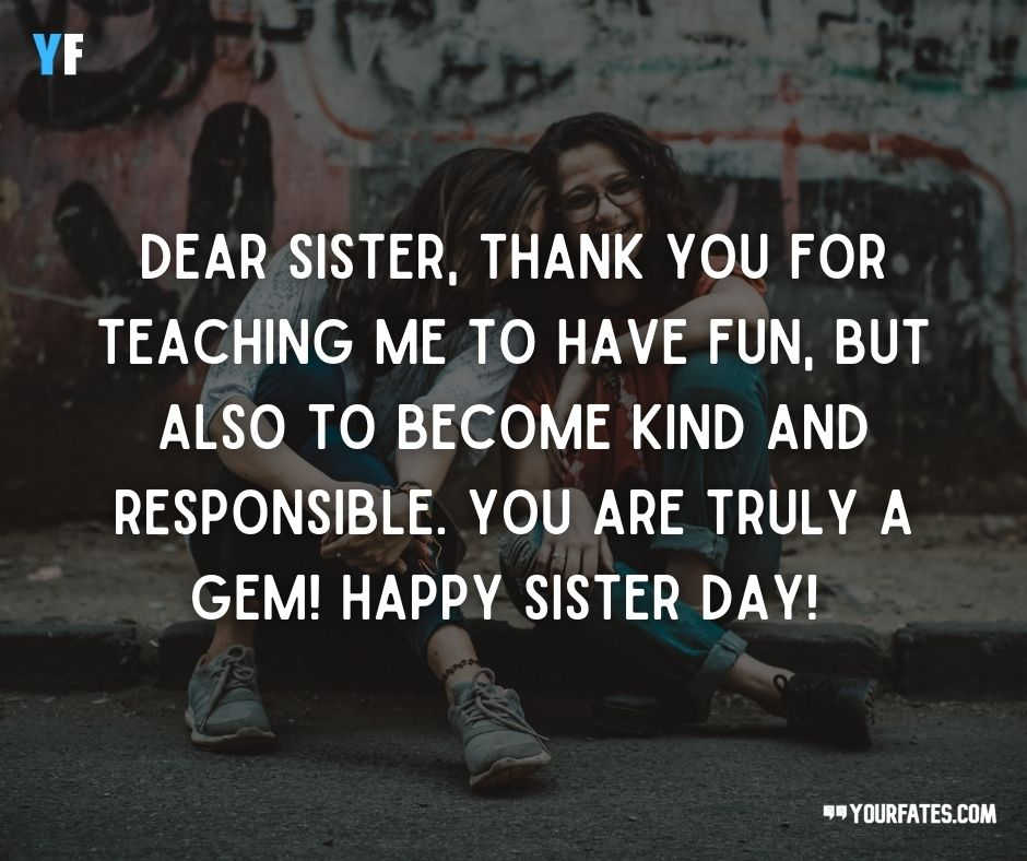 happy Sisters Day wishes