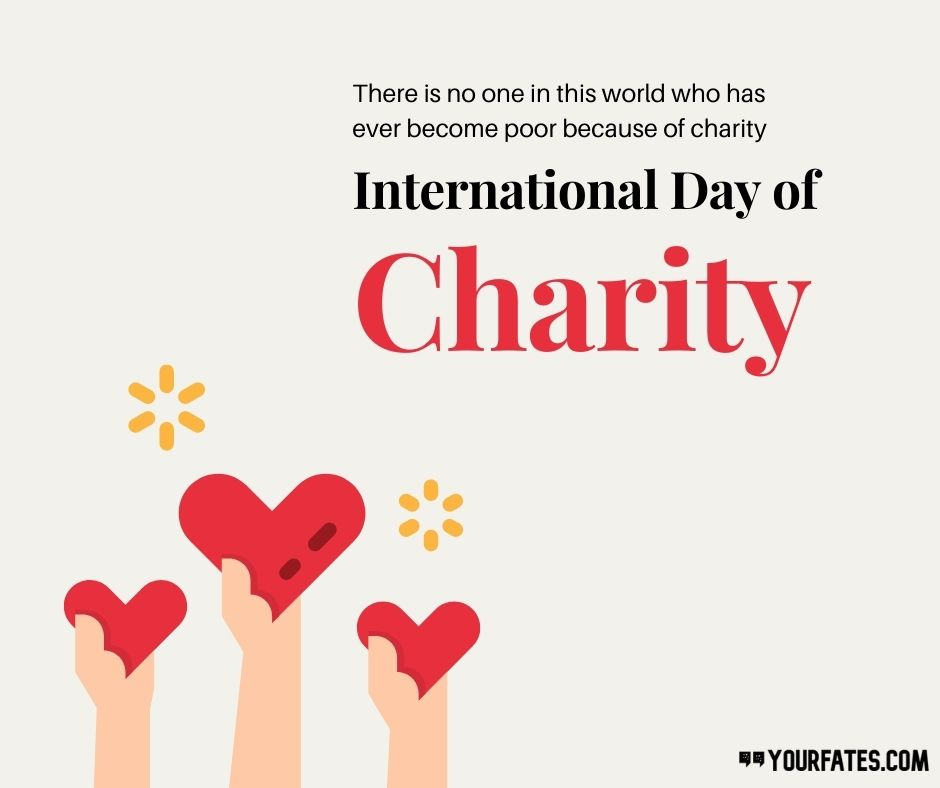 International Day of Charity Wishes