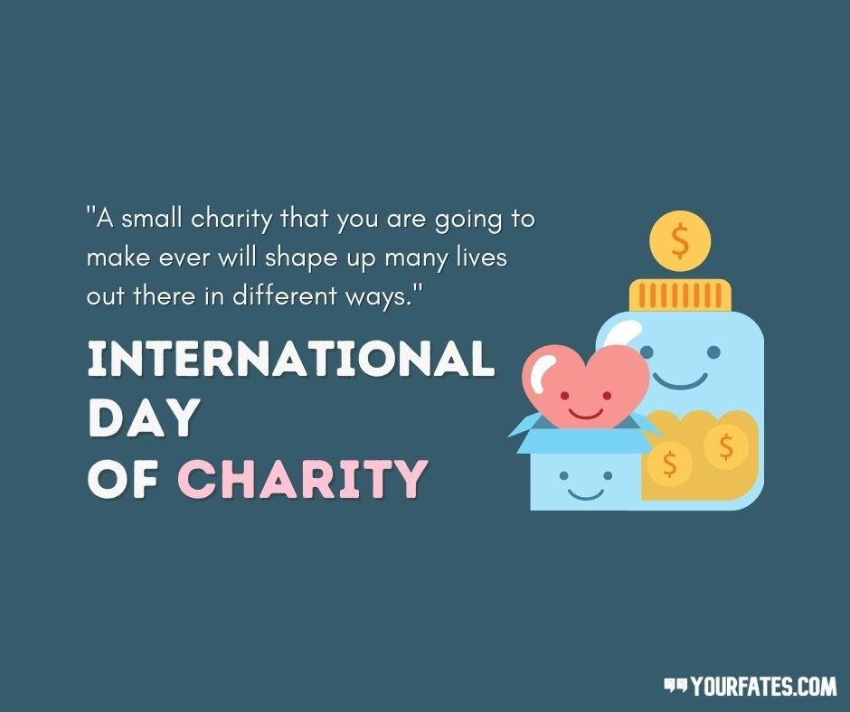 charity day wishes