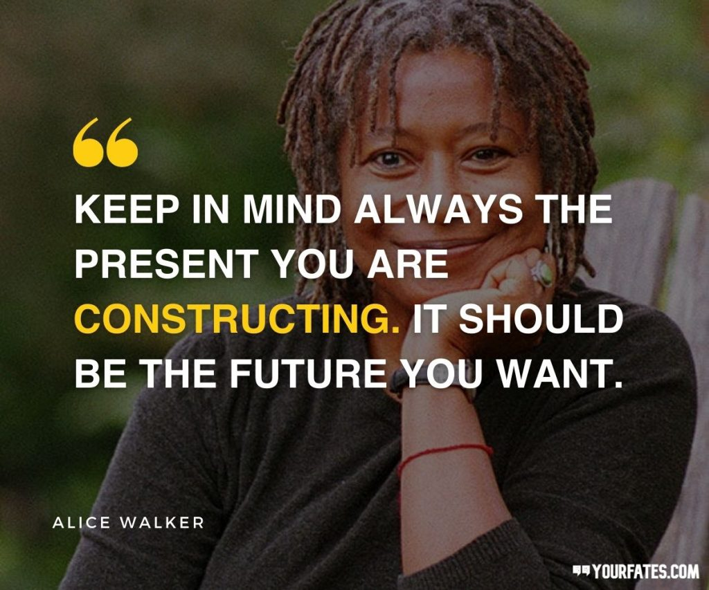 Alice Walker Quotes on respect