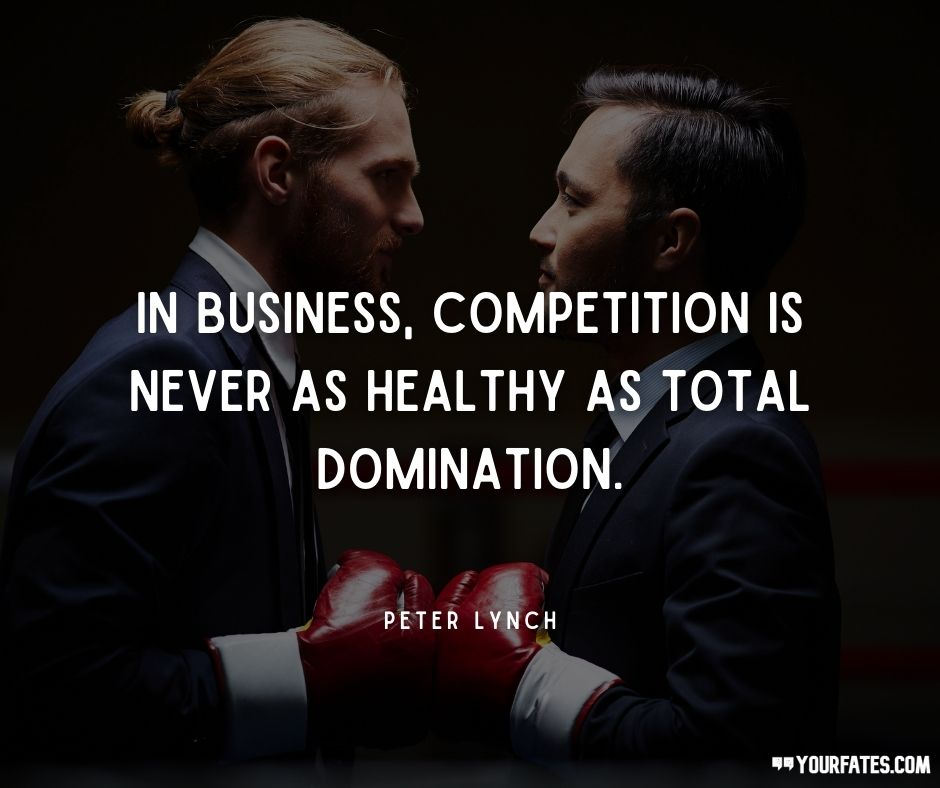 Competition Quotes on business