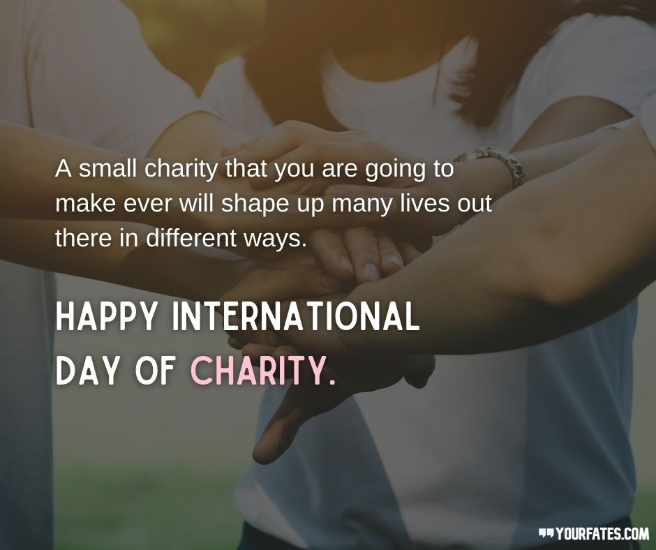 charity day Messages