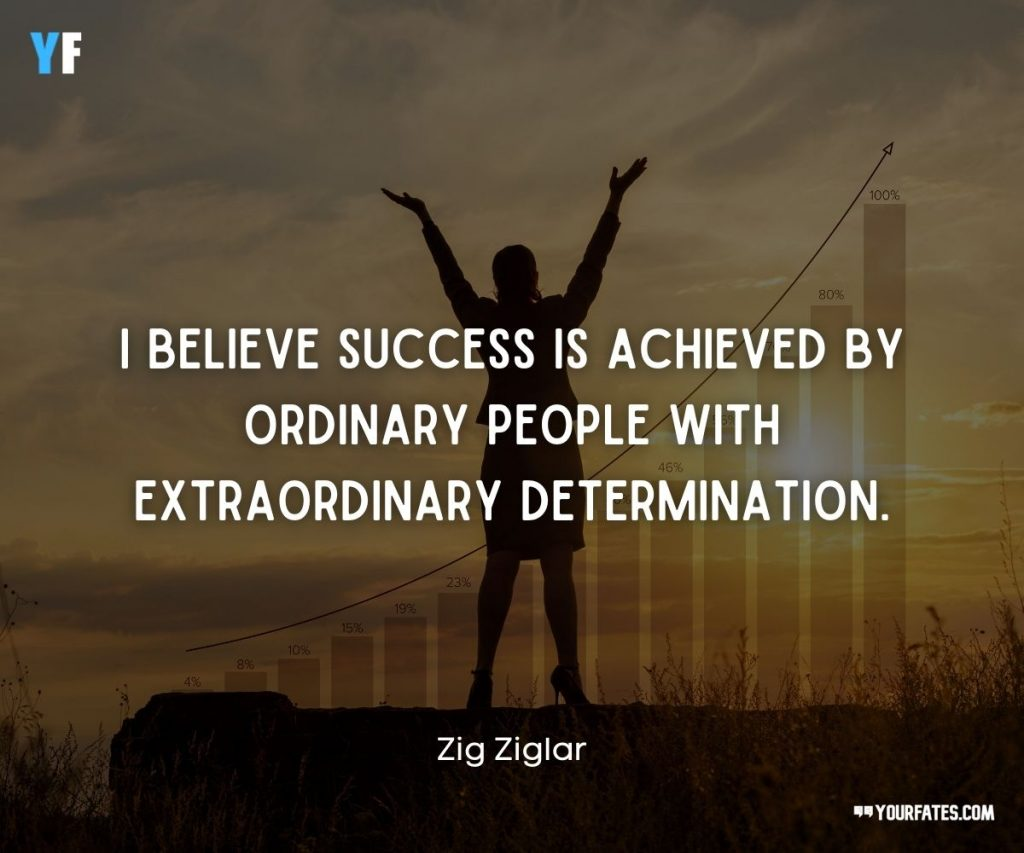 hard work and determination quotes